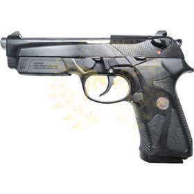 WE Tech Beretta M90TWO Airsoft Pistol 6mm Green Gas-Pistols-Crown Airsoft