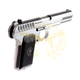 WE TT33 Tokarev TT-33 Gas Blow Back (Silver)-Pistols-Crown Airsoft