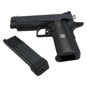 NEW!!! EMG Salient Arms International 2011 4.3 GBB Pistol (Aluminum )-Pistols-Crown Airsoft