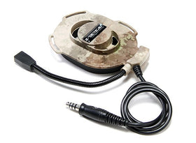 Z Tactical zBowman Elite II Headset Z027 (A-tacs)-Combat Gear-Crown Airsoft