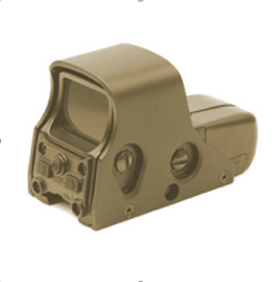 BOG 551 SSR 0001 Holo Reflex Sight (FDE)-Scopes & Optics-Crown Airsoft