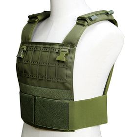 Crown Tactical Portable Conception Plate Carrier OD-Vest-Crown Airsoft