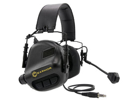 Earmor M32 MOD1 Electronic Communication Hearing Protector-Combat Gear-Crown Airsoft
