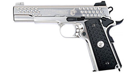 WE-Tech KAC Knighthawk 1911 GBB pistol (Silver)-Pistols-Crown Airsoft