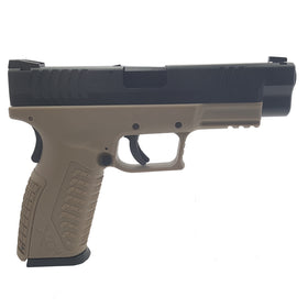 HK3 XDM 4.0 Tactical GBB Pistol FDE (Full marking)