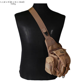Nylon Multi-puprose Shoulder Bag-Crown Airsoft