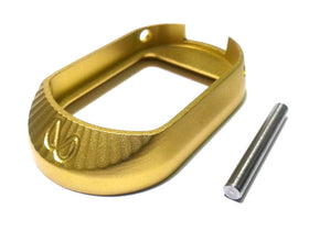 AIP Aluminum Infinity Magwell - Type 3 (Gold)-Magwell-Crown Airsoft