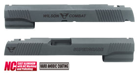 Aluminum Custom Slide for MARUI HI-CAPA 5.1 (Wilson Combat/Black)-Internal Parts-Crown Airsoft