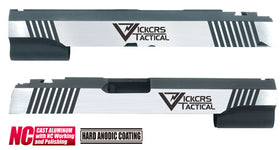 Aluminum Custom Slide for MARUI HI-CAPA 5.1 (Vickcrs/Dual Ver.)-Internal Parts-Crown Airsoft