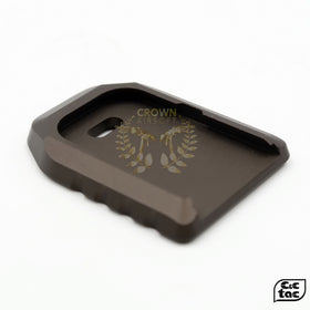 C&C DDC A1 MAG BROWN-Magwell-Crown Airsoft