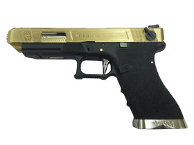 WE Tech G Force G35 GBB pistol T11 (OD/Gold/OD)-Pistols-Crown Airsoft