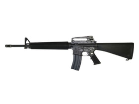WE Tech M16A3 KATANA Rifle W/red cylinder (Black)-Rifles-Crown Airsoft