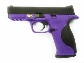 WE Tech Bigbird GBB Pistol (Pupple)-Pistols-Crown Airsoft