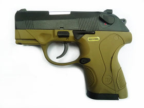 WE Tech Bulldog Compact GBB Pistol Tan-Pistols-Crown Airsoft