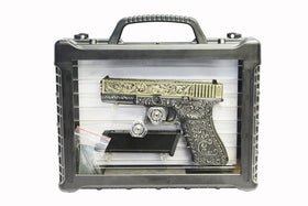 WE Tech G series Engraved G17 Box set(Bronze)-Pistols-Crown Airsoft