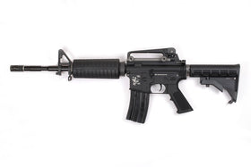 WE Tech M4A1 GBB Rifle (Black)-Rifles-Crown Airsoft