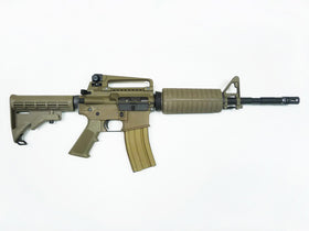 WE Tech M4A1 GBB Rifle(Tan)-Rifles-Crown Airsoft
