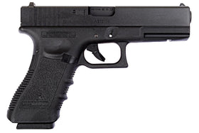 WE Tech G series G17 GBB Pistol (Black)-Pistols-Crown Airsoft