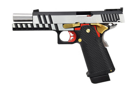 AW Custom Double Barrel 1911 Hi-Capa Gas Blowback Airsoft Pistol-Pistols-Crown Airsoft