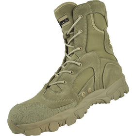 "Tactical Tracker DT08 combat boots 8"" (Desert Tan)-combat gear-Crown Airsoft"