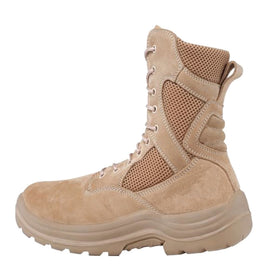 Tactical Tracker EXLT Extreme Light Combat Boots (Desert Tan)-combat gear-Crown Airsoft
