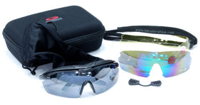 G-C7 Polycarbonate Sport Glasses-Combat Gear-Crown Airsoft