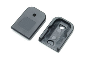 G-Series GBB Magazine Base (Standard/Black)-Internal Parts-Crown Airsoft