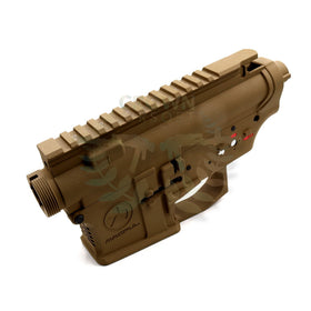 G&P Metal body for M4 AEG (FDE, Magpul)-Receiver body-Crown Airsoft