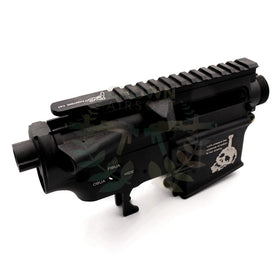 G&P Metal Body for M4 AEG (B fighting Cat)-Receiver body-Crown Airsoft