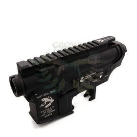 G&P Metal Body for M4 AEG (Skull Frog Ver.B)-Receiver body-Crown Airsoft
