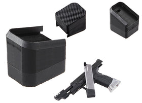 WE Tech Rubber Magazine base for XDM X-series-Magazine parts-Crown Airsoft