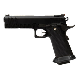 AW Custom Hi-Capa BLACK ACE GBB PISTOL HX2003-Pistols-Crown Airsoft