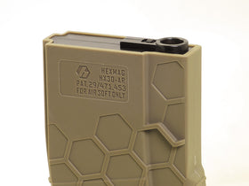 Hexmag Airsoft 120rds Polymer AEG Magazine(Dark Earth)-Rifle Magazines-Crown Airsoft