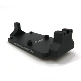 Ace 1 Arms FNX45 Adaptor for RMR ( BK )-Scopes & Optics-Crown Airsoft