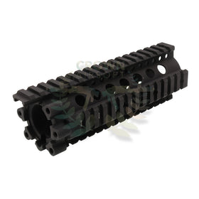 "Madbull 7"" DD 7.62 LITE RAIL(Black)-Rails-Crown Airsoft"