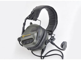 Earmor M32 Tactical Hearing Protection Ear-Muff (Foliage Green)-Combat Gear-Crown Airsoft