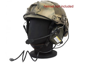 Earmor M32H Tactical Hearing Protection Ear-Muff Helmet Edition (Foliage Green)-Combat Gear-Crown Airsoft