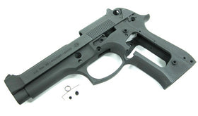 Aluminum Slide & Frame for MARUI M9 - (Dark Gary)-Internal Parts-Crown Airsoft