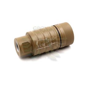 Madbull Noveske licenced KFH Sound amplifier (Tan, 14mm CCW)-Muzzle device-Crown Airsoft