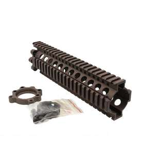 "Madbull 9"" DD Lite Rail (FDE)-Rails-Crown Airsoft"