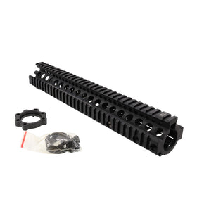 "Madbull 12.5""DD Rail (Black)-Rails-Crown Airsoft"