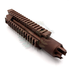 "Madbull 7"" PWS DIABLO rail handguand (Tan)-Rails-Crown Airsoft"