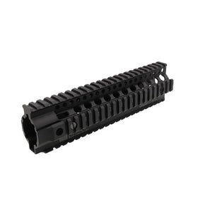 "Madbull 9""DD Omega rail (Black)-Rails-Crown Airsoft"