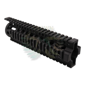"Madbull 9"" DD Omega Rail (Black)-Rails-Crown Airsoft"