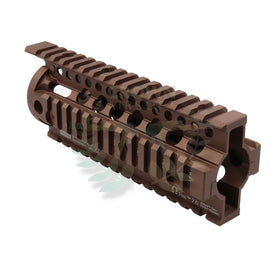 "Madbull 7"" DD Omega Rail (FDE)-Rails-Crown Airsoft"