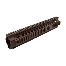 "Madbull 12"" DD Omega X Rail (FDE)-Rails-Crown Airsoft"