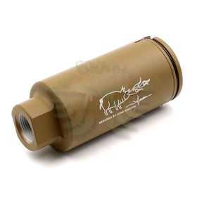 Madbull Noveske licenced KX3 Sound amplifier (Tan, 14mm CCW)-Muzzle device-Crown Airsoft