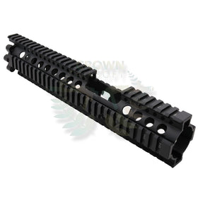 "Madbull 12"" DD FSP LITE RAIL(Black)-Rails-Crown Airsoft"