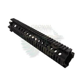 "Madbull 12""DD 7.62 LITE Rail (Black)-Rails-Crown Airsoft"