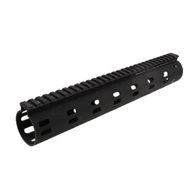 "Madbull 12""DD Modular Float Rail (Black)-Rails-Crown Airsoft"